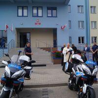 Dwie nowe Yamahy w siedleckiej komendzie Policji