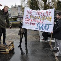 Zamiast iść do szkoły zorganizowali Klimatyczny Strajk dla Ziemi (fotorelacja)