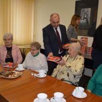 Spotkanie z Powiatowa Radą Kombatancką w Siedlcach