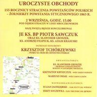 155. rocznica stracenia powstańców polskich