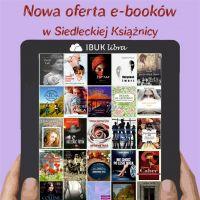 Nowa oferta e-booków w Siedleckiej Książnicy