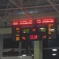 Nieudane mecze koszykarskich drużyn