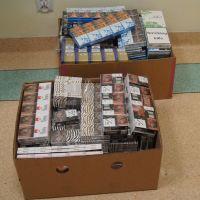Policjanci zabezpieczyli ponad 1600 paczek papierosów bez akcyzy
