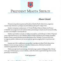 Kondolencje dla Gdańska od Prezydenta i Rady Miasta