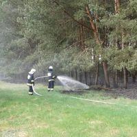 Pożar ścioły w Gostchorzy