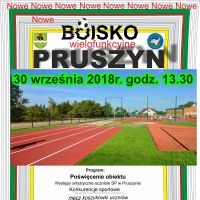 Nowe boisko w Pruszynie