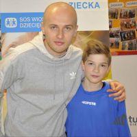 Michał Pazdan spełnił marzenie dwunastoletniego chłopca