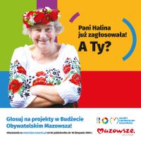 Rusza głosowanie w Budżecie Obywatelskim Mazowsza