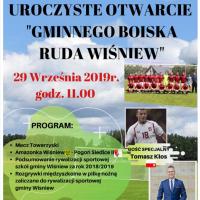 Otwarcie stadionu w Wiśniewie