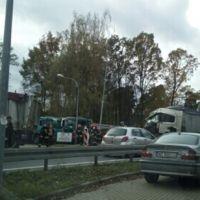 Wypadek na drodze krajowej nr 2