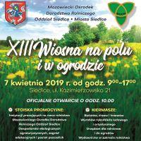 Siedlecka XIII Wiosna na Polu i w Ogrodzie